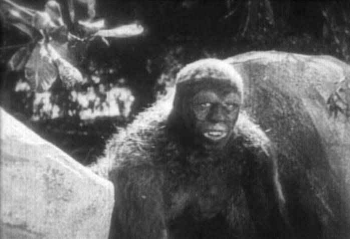Ape man from The Lost World