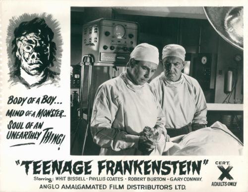 Teenage Frankenstein Lobby Cards 07 8-24-15