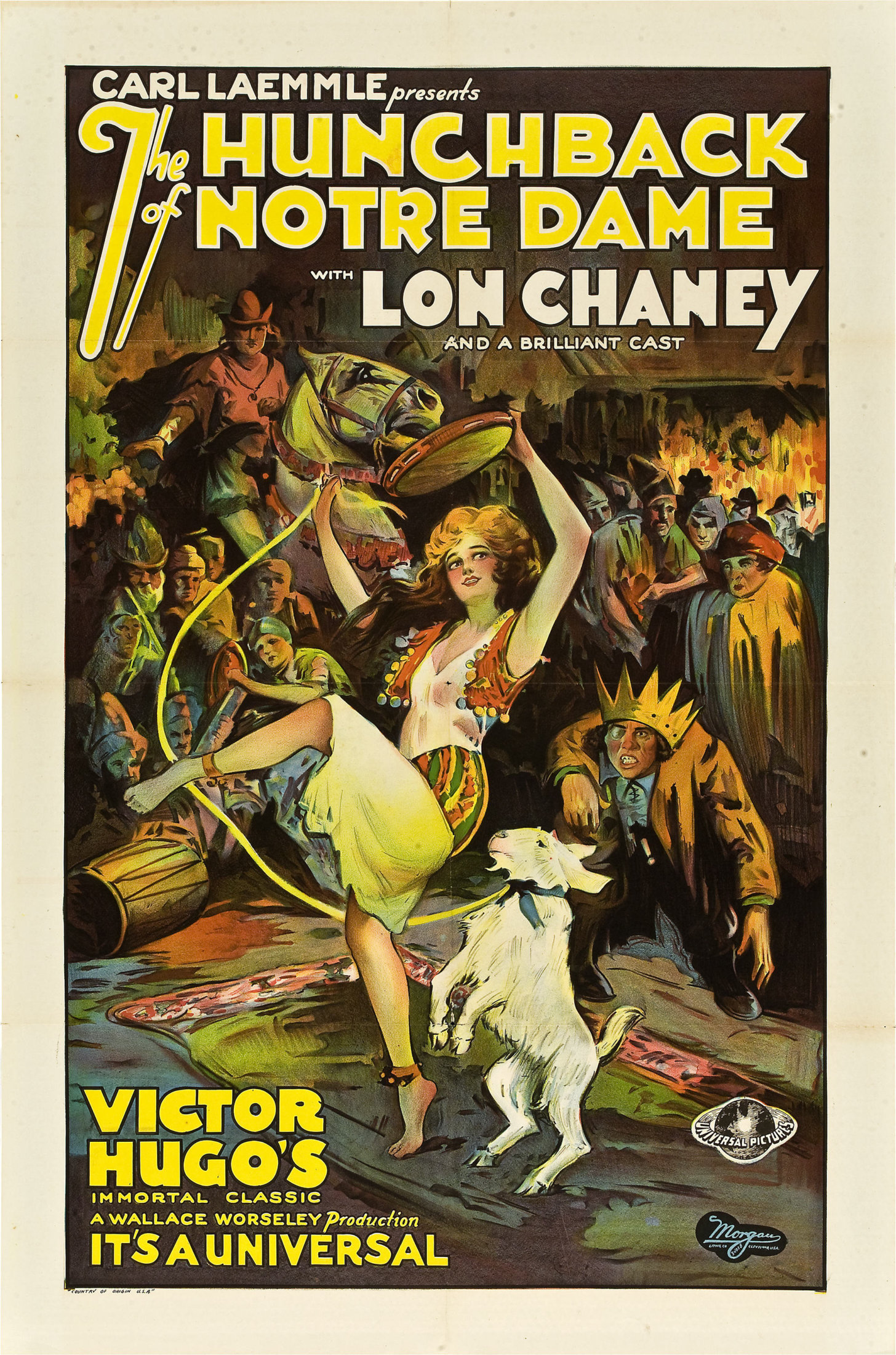 The Hunchback of Notre Dame - poster 1923