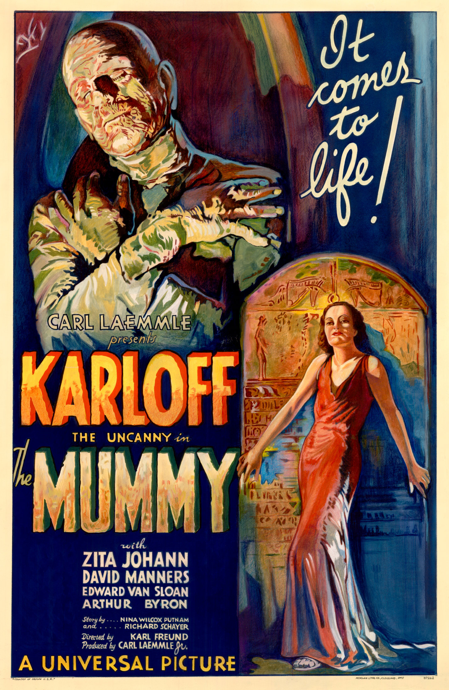 The Mummy 1932 film poster