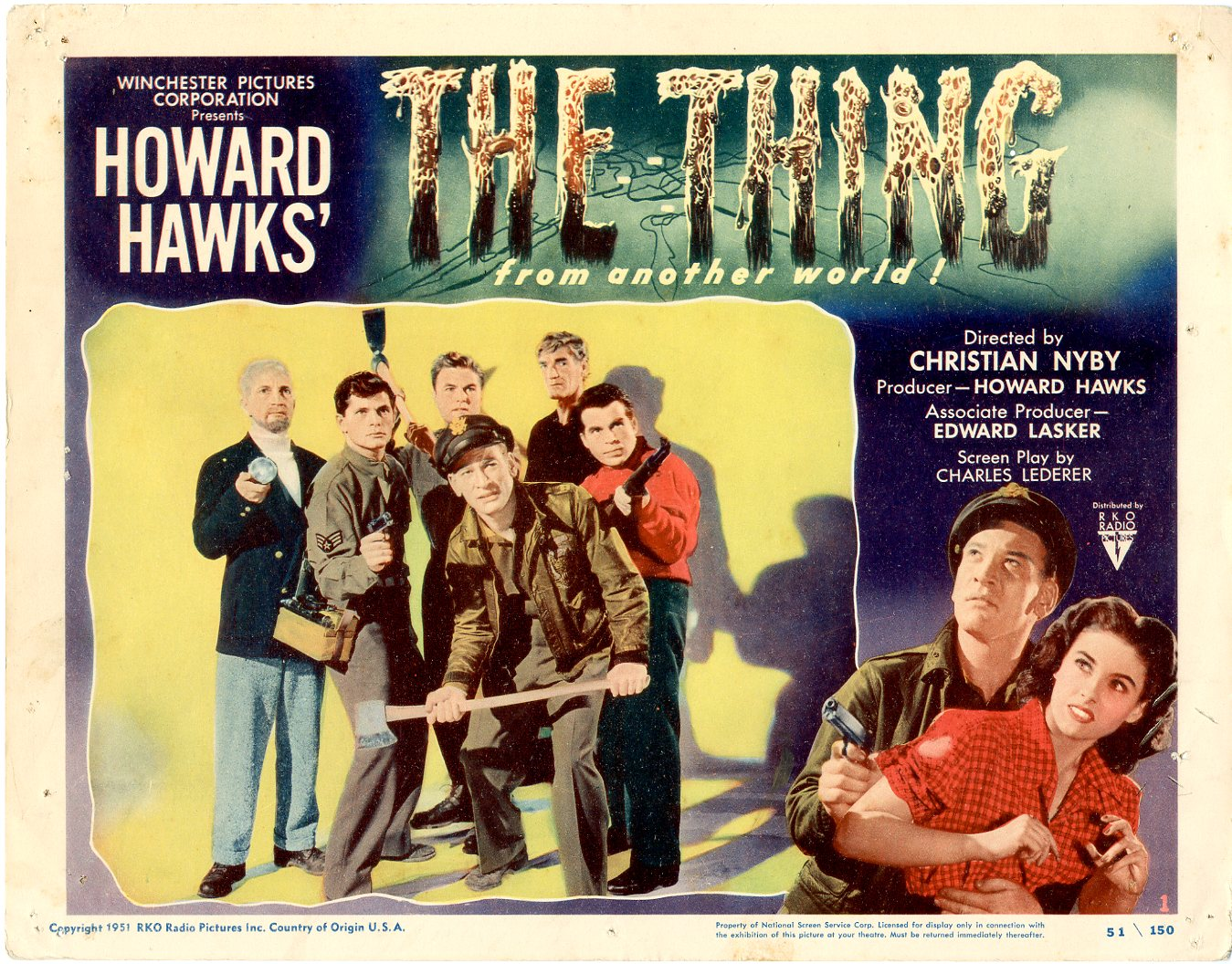 The Thing from Another World - Lobby Card