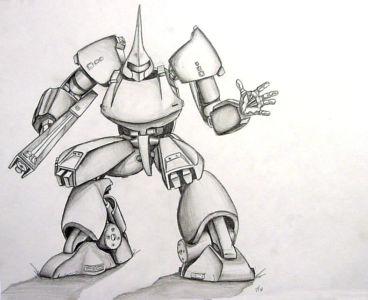 Gundam Pencil