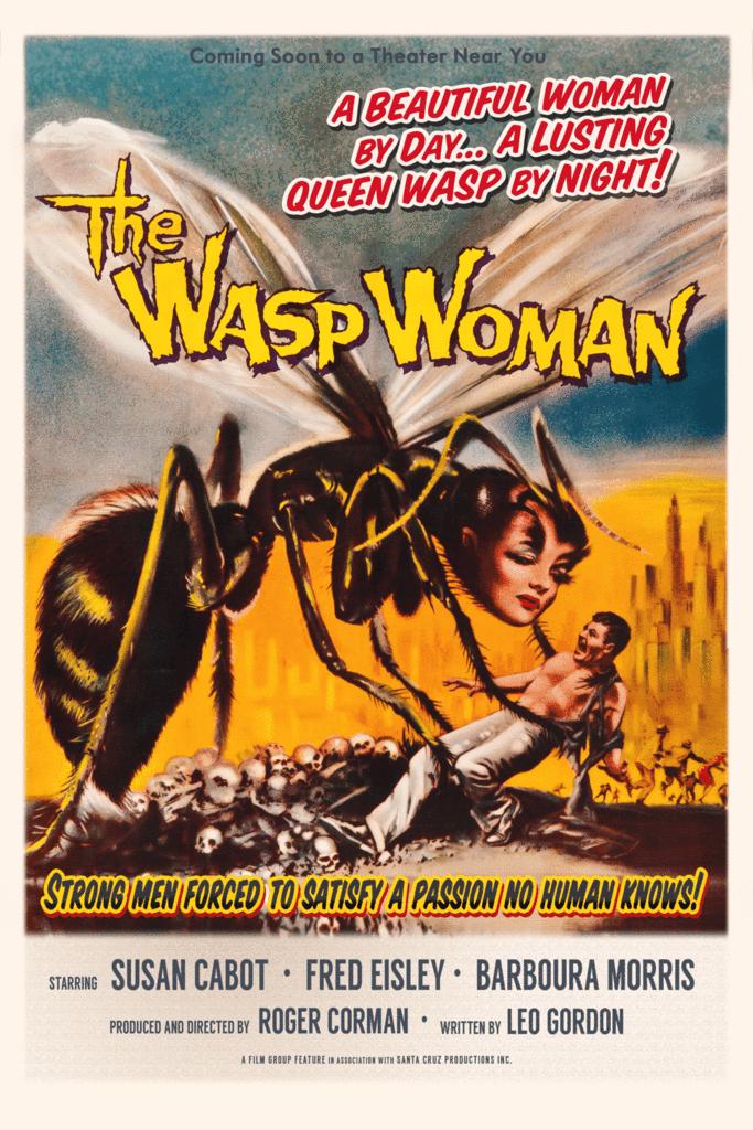 wasp woman tshirt 1024x1024